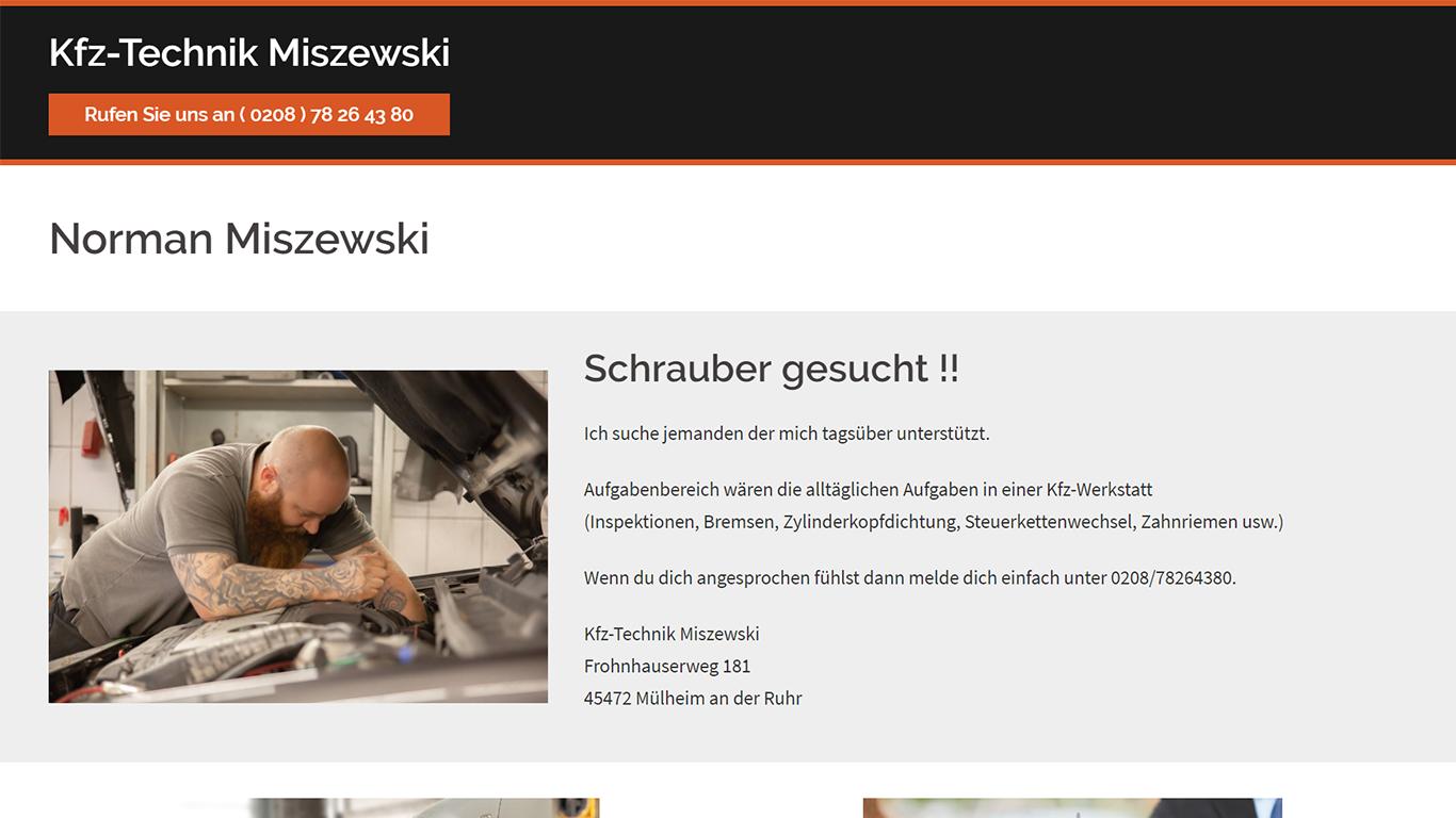 Portfolio - Kfz-Technik-Miszewski.de (1366x768)