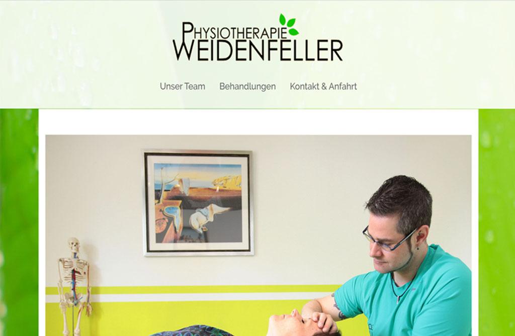 Portfolio - Physiotherapie-Weidenfeller.de
