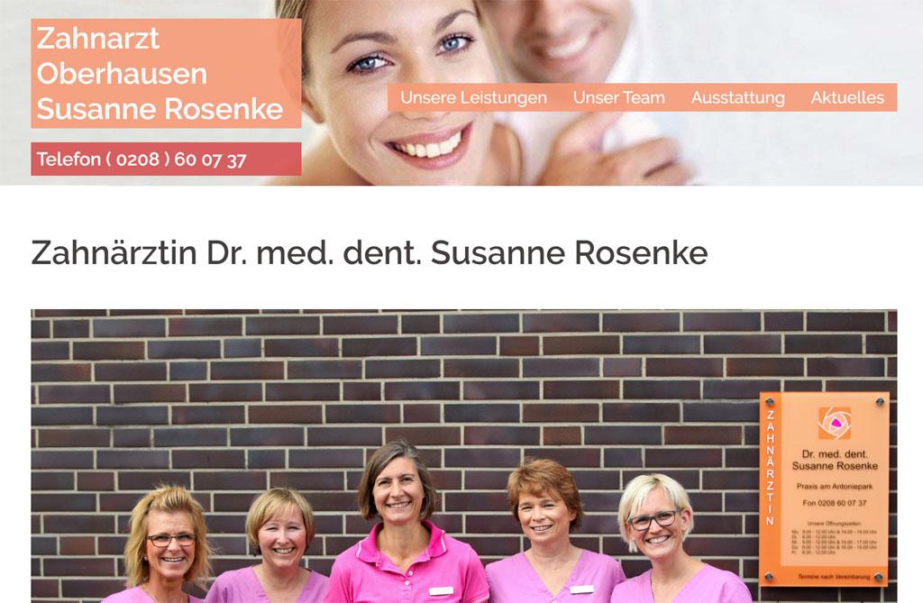 Portfolio - Zahnarzt-Oberhausen-Susanne-Rosenke.de